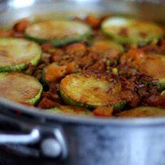 Courgette Paella Recipe