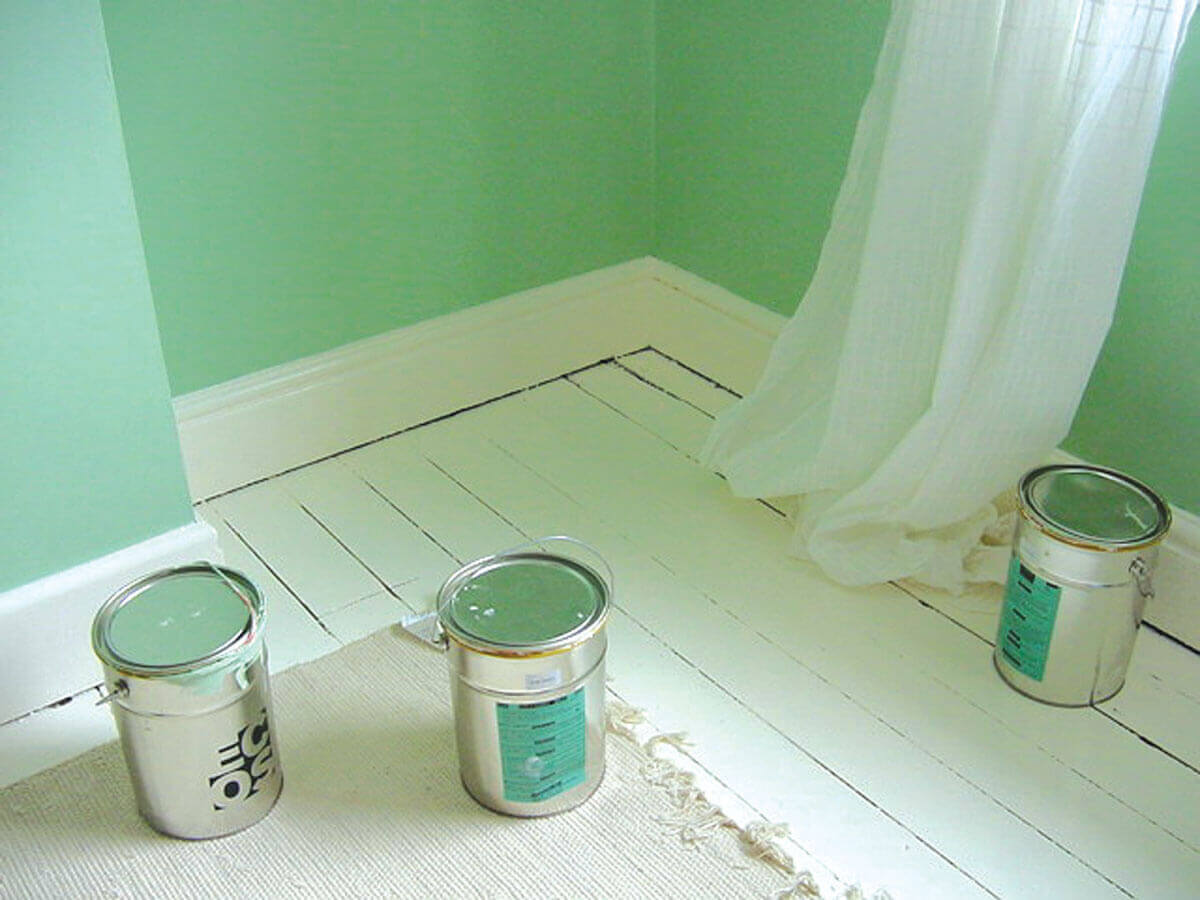ECOS organic paints are non-toxic, natural and biodegradable, packaged in plain metal tins that can be easily recycled