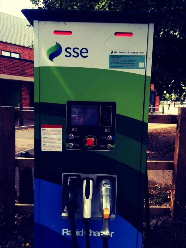 Prizes for the first person to correctly identify who operates this charger in Ringwood