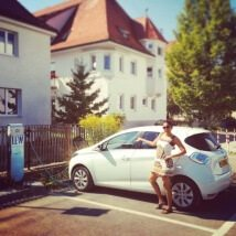 Can you travel abroad in a Renault Zoe electric car?
