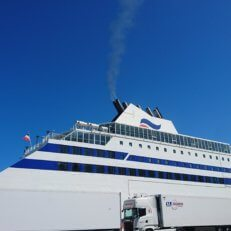 Is the ferry to Spain more eco-friendly than flying?